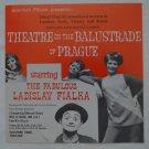 Ladislav Fialka Flier Theatre on the Balustrade of Prague Leaflet Vintage Mime 1971