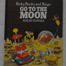 Ricky Rocky and Ringo Go To The Moon Hardcover Book Mauri Kunnas Methuen 1987
