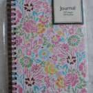 Laura Ashley Journal 100 pages Colorbok 50842 Pink Flowers 5x7 Spiral Notebook