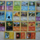 Pokemon Cards Lot 21 2011