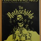 Performing Arts The Rothschilds Program Jun 72 V6 #6 Hal Linden Dorothy Chandler