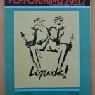 Performing Arts Legends! Jan 86 Ahmanson Program Mary Martin Carol Channing