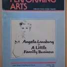 Performing Arts A Little Family Business Program Oct 1982 Angela Lansbury