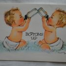 Charlot Byi Baby Birthday Card Vintage Bottoms Up Coronation Collection