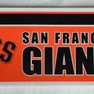 San Francisco Giants Bumper Sticker SF Rico Industries MLB 2005 11x3