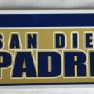 San Diego Padres Bumper Sticker SF Rico Industries MLB 2004 11x3