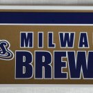 Milwaukee Brewers Bumper Sticker SF Rico Industries MLB 2004 11x3