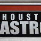 Houston Astros Bumper Sticker SF Rico Industries MLB 2004 11x3