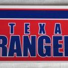 Texas Rangers Bumper Sticker SF Rico Industries MLB 2003 11x3