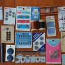 Lot Sewing Notions Vintage Button Bobbin Needle Guide Dritz Gauge Hem Clip