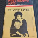 Private Lives Performing Arts Wilshire Theatre 1983 Elizabeth Taylor Richard Burton