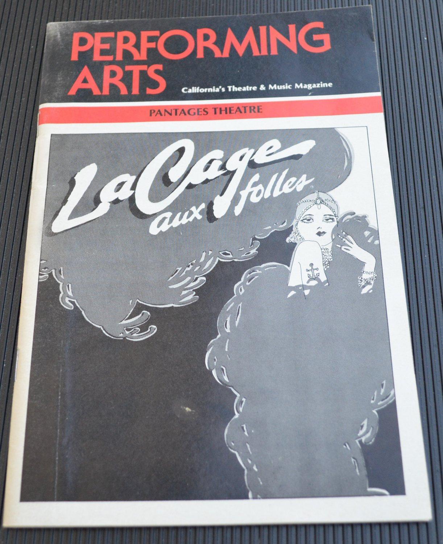 Le Cage Aux Folles Performing Arts Pantages Theatre 1984