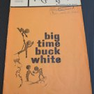 The Playgoer Big Time Buck White Coronet Theatre 1968