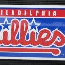 Philadelphia Phillies Bumper Sticker Rico Industries MLB 2002 11x3