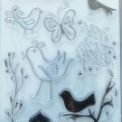 Autumn Leaves Clear Nature Stamps Rhonna Farrer 2503