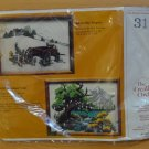 Creative Circle Needlepoint Kit 313 Old Wagon 1981 Vintage New Bob Fleming