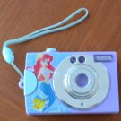 LIttle Mermaid Toy Camera Sound Light Purple Plastic Disney Ariel