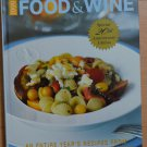 1999 Food & Wine Annual Cookbook Hardcover Entire Year's Magazine Recipes