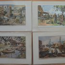 Lionel Barrymore Foil Print Lot 4 Pt Mugu Seaworthy Point Pleasant Purdy's Basin