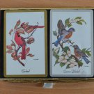 Vintage Playing Cards Congress 2 Decks Cardinal Eastern Bluebirds W.D. Gaither