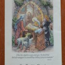 St David Church Christmas 1942 Schedule Program North Hollywood CA Vintage