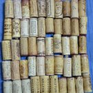 Lot 50 Used Wine Corks Natural Agglomerate California French Red