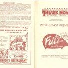 Futz Rochelle Owens Comic Morality Play Flier Program 1980's