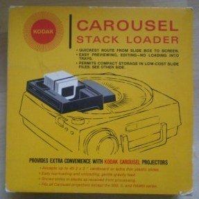 Kodak Carousel Stack Loader B40 Slide Vintage