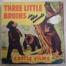 Three Little Bruins in the Woods Castle Films 16mm Vintage F