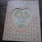 Vintage Betsey Clark Valentine's Card Booklet Hallmark Treasures 1975 100VTR 2-4