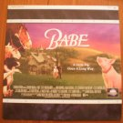 Babe Laserdisc Letterboxed Universal Laser Disc Extended Play 42692 1995