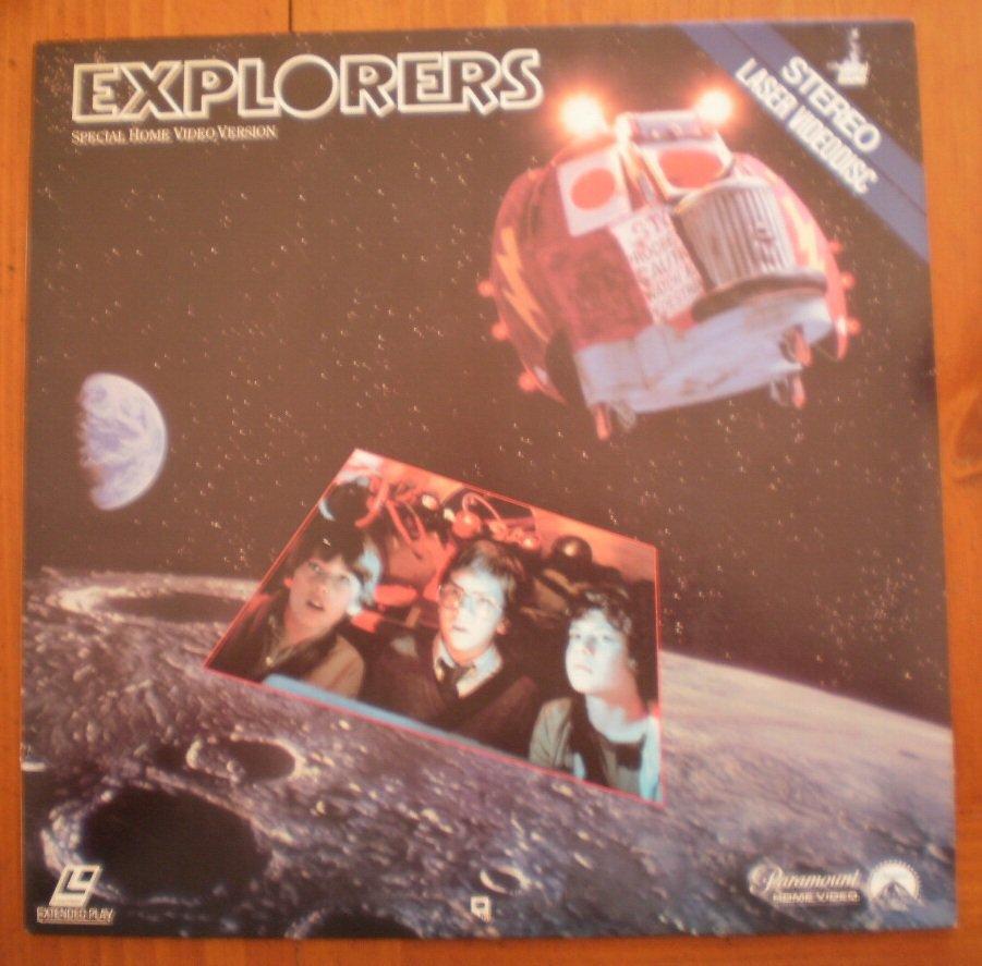 Explorers Laserdisc Laser Video Disc Paramount 1985 LV1676 Extended Play
