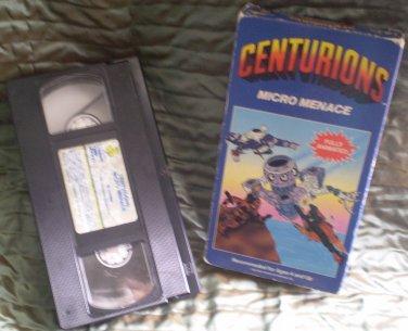 Centurions Micro Menace VHS 1986 Children Video Library