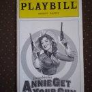 Annie Get Your Gun Playbill Marquis Theatre 1999