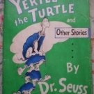 Yertle the Turtle Other Stories Seuss 1st Ed 295 1958 HB DJ