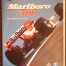 Marlboro 500 CAlifornia Speedway 1997 Official Race Program