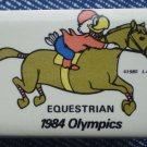 1984 Olympics Equestrian Pin Sam Olympic Eagle Badge
