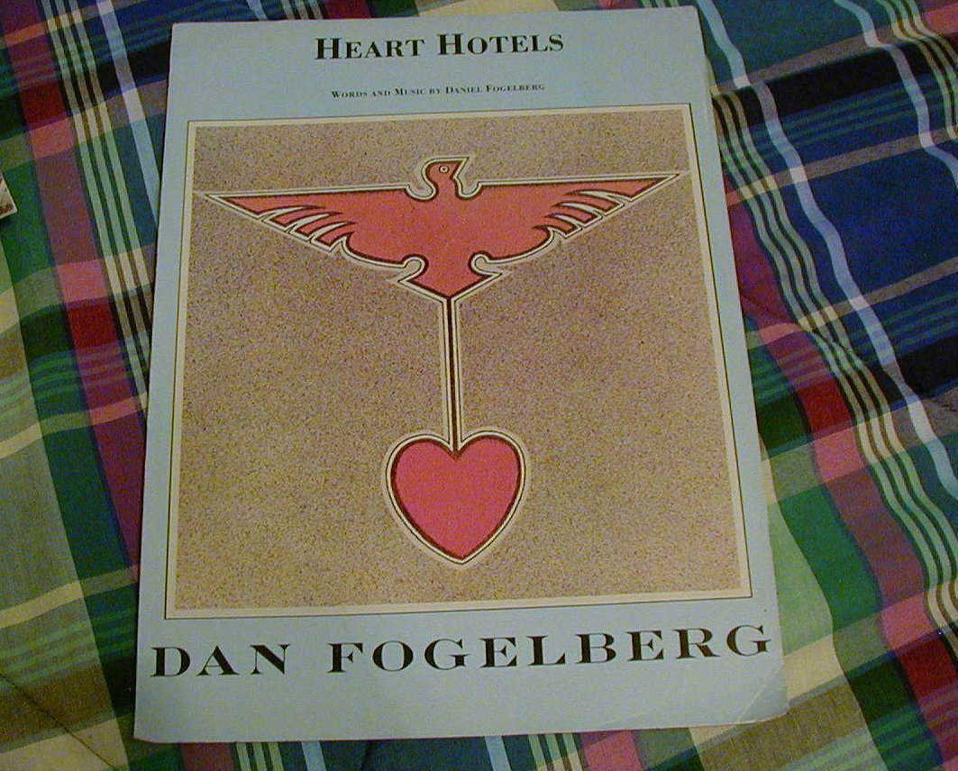 Heart Hotels Sheet Music Dan Fogelberg 1979