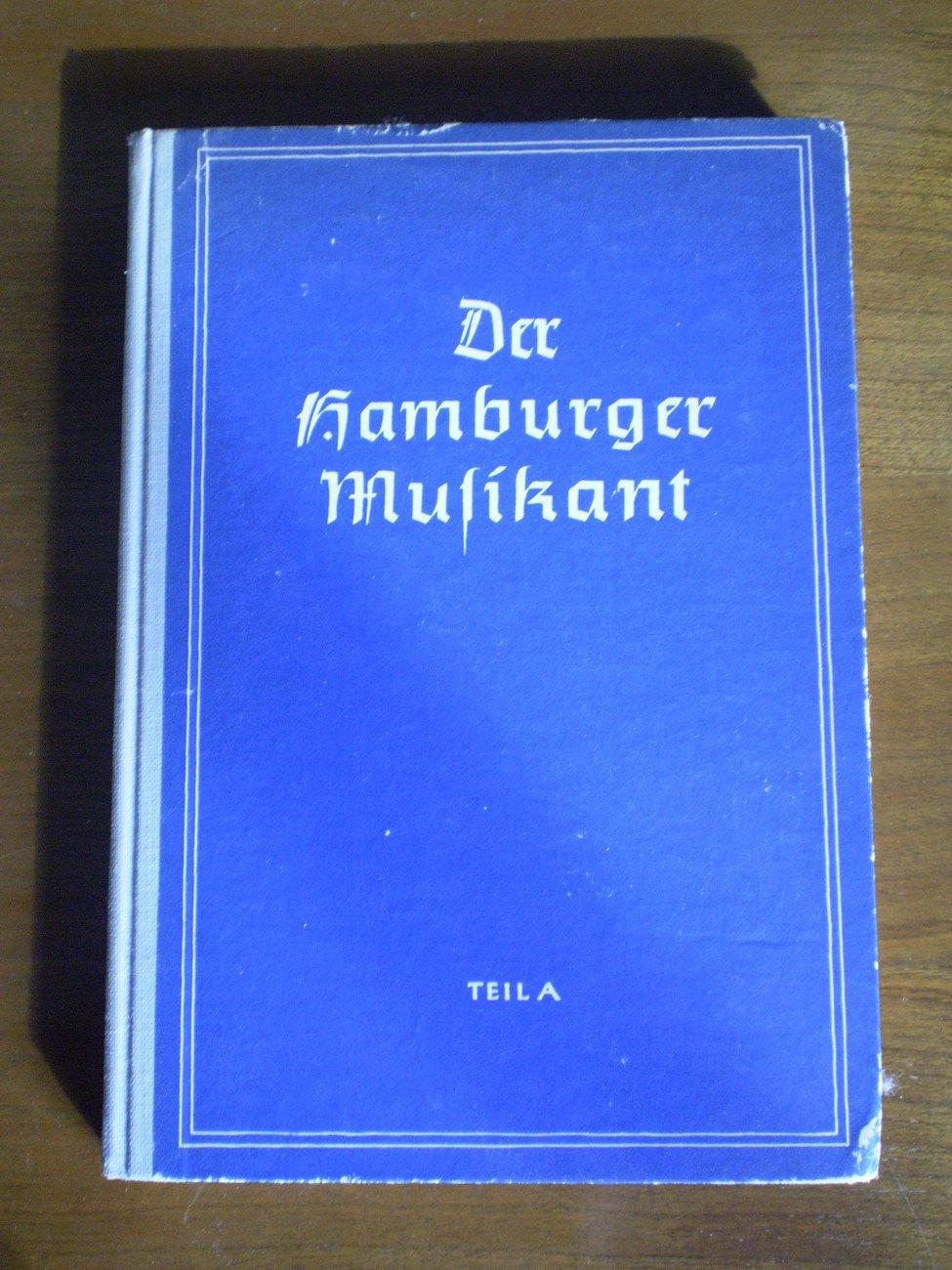 Der Hamburger Musikant Teil A Vom 3-6 Songbook Schuljahr