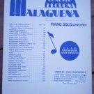 Malaguena Ernesto Lecuona Sheet Music Andalucia Piano Solo