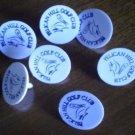 Pelican Hill Golf Ball Marker Plastic Vintage Newport