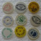 Lot 9 Mixed Lot Golf Ball Marker Vintage Montana Utah
