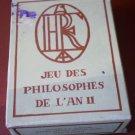 Concorde Air France Playing Cards Jeu Des Philosophes De L'An II Dusserre Sealed