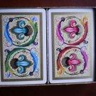 Heraclio Fournier Playing Cards Fleur De Lis 826 Double Deck Vintage Box Vitoria