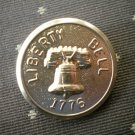 Liberty Bell 1776 Metal Button Self Shank Gold 7/8in Lot 2