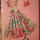 Greeting Card Blank Paper Magic Group Vintage Dress Purse Party 3D