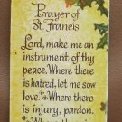 Bookmark Antioch Bookplate 1973 Prayer of St Francis AB H51