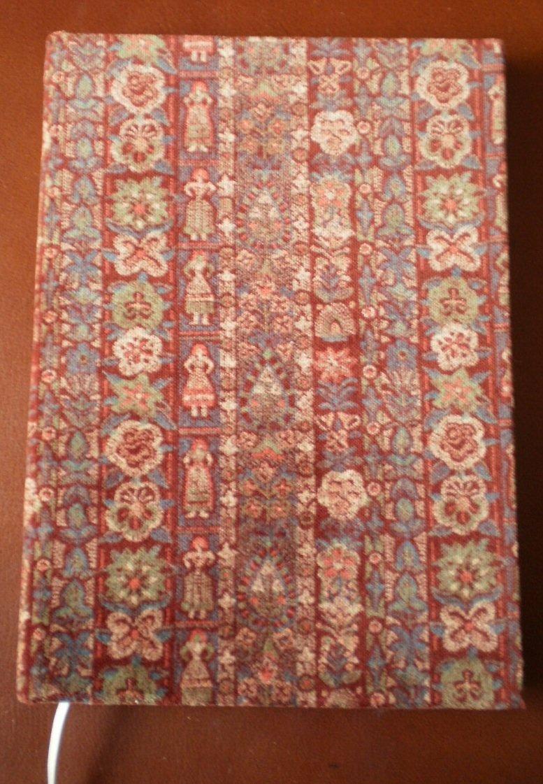 Corduroy Blank Book Maroon D Easley Wynne Journal Diary Hardcover 7.5x5.25