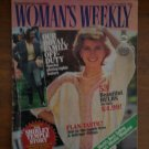 Woman's Weekly Magazine Sept 1984 Shirley Temple Royal Family Flan