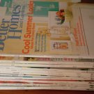 Better Homes and Gardens Magazines Lot Aug 09-Aug 10 BHG